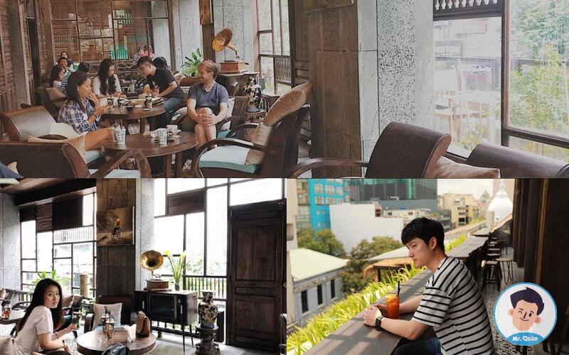 Quán cafe cô ba Sài Gòn