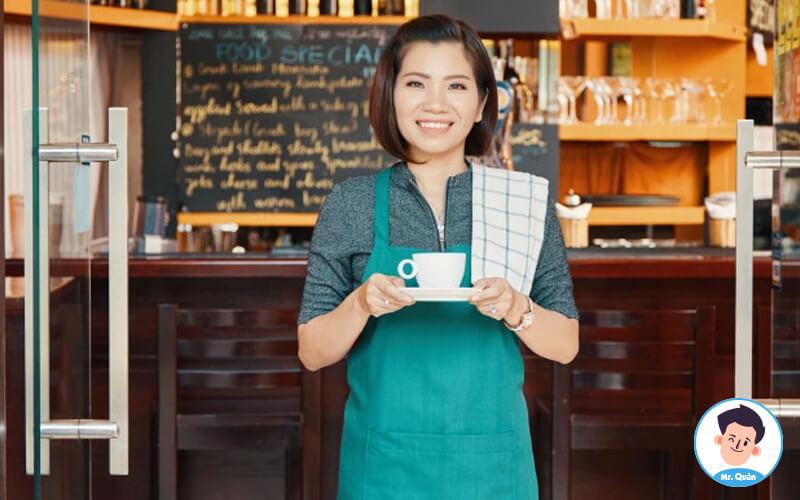 Thuê nhân viên quán cafe