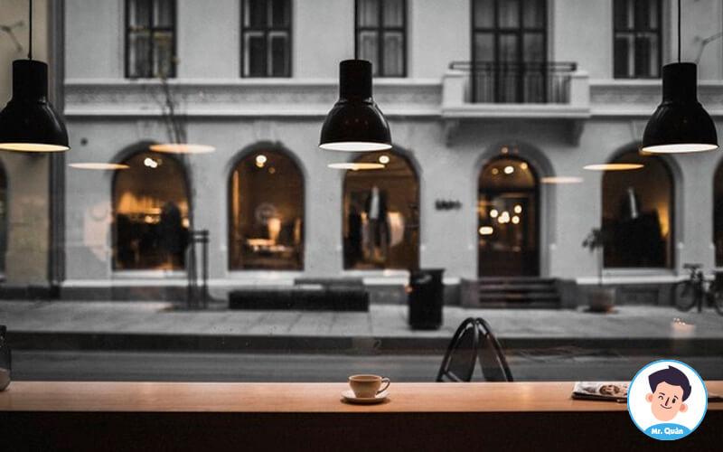 Chi phí thuê mặt bằng mở quán cafe
