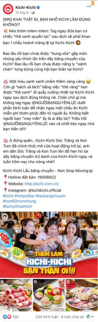 Content mini game Kichi Kichi