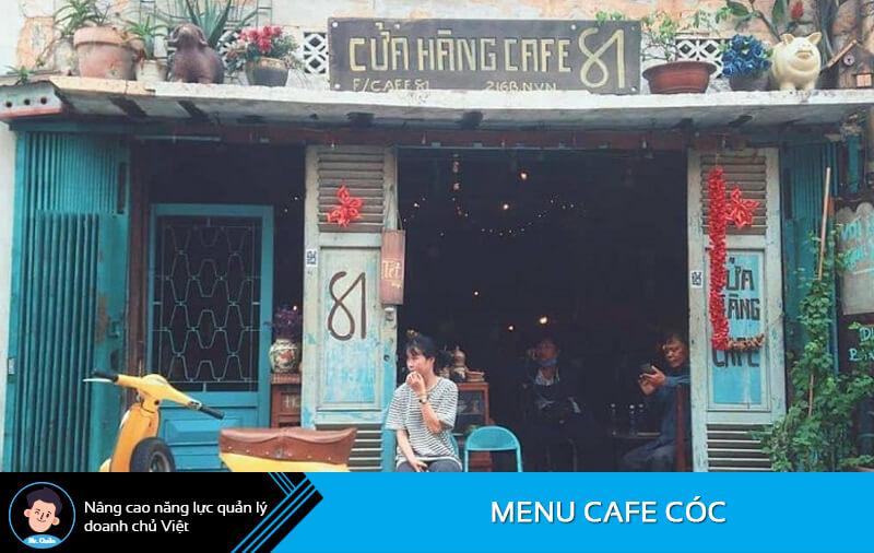 Đặt tên quán cafe cóc