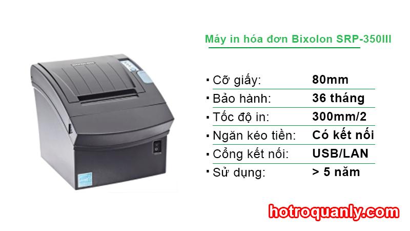 Máy in hóa đơn Bixolon SRP-350III Plus