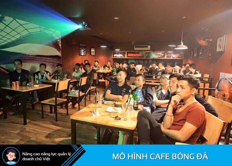 Mô hình cafe bóng đá