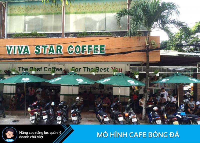 Mô hình cafe nhượng quyền thương hiệu