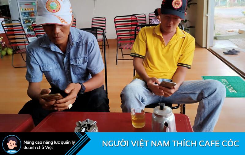 Người Việt thích cafe cóc