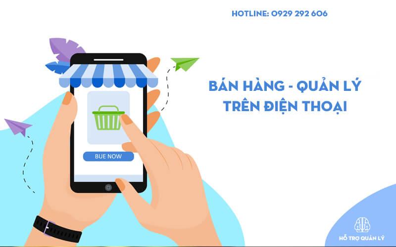 Bán hàng và quản lý trên điện thoại di động