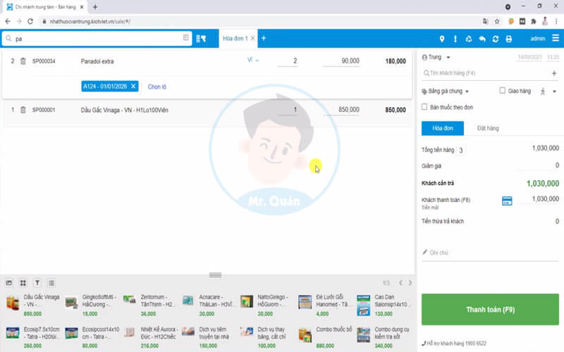 Phần mềm quản lý nhà thuốc KiotViet