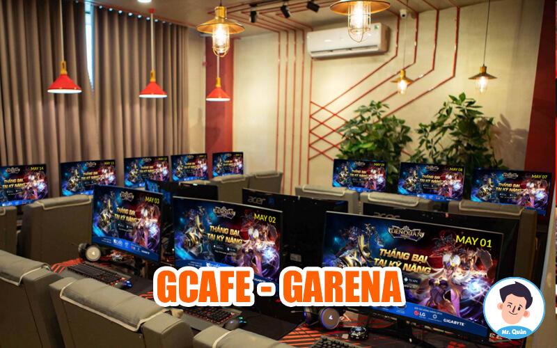 Phần mềm quản lý phòng game gcafe