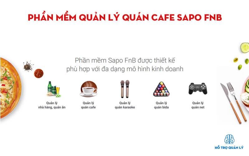 Phần mềm cafe sapo FnB
