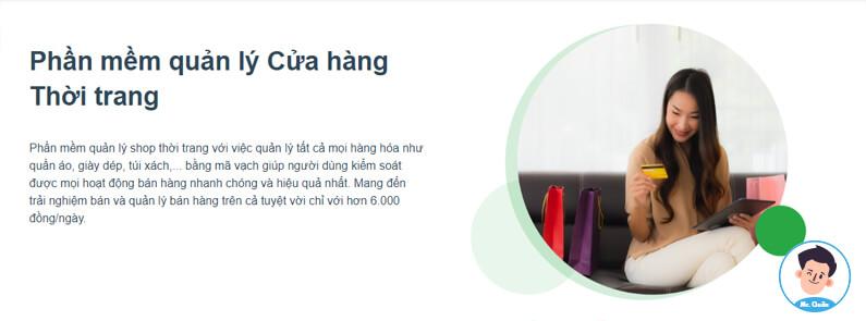 Phần mềm quản lý shop thời trang Tpos