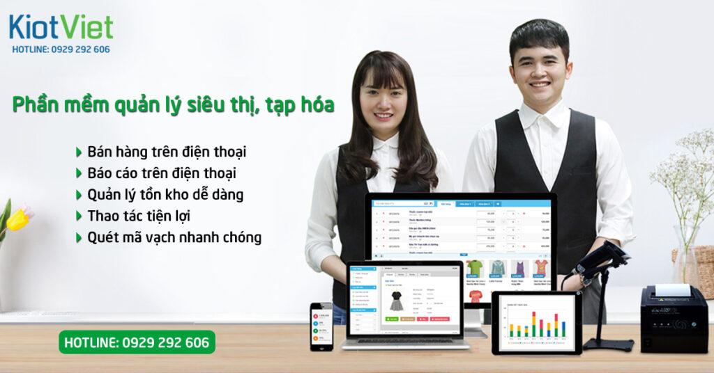 Phần mềm tạp hóa, siêu thị KiotViet