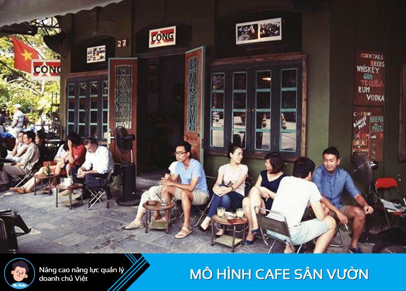 Mô hình quán cafe cóc dưới 100tr