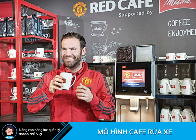 Quán cafe Manchester United