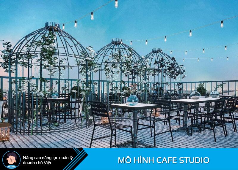 Mô hình quán cafe studio