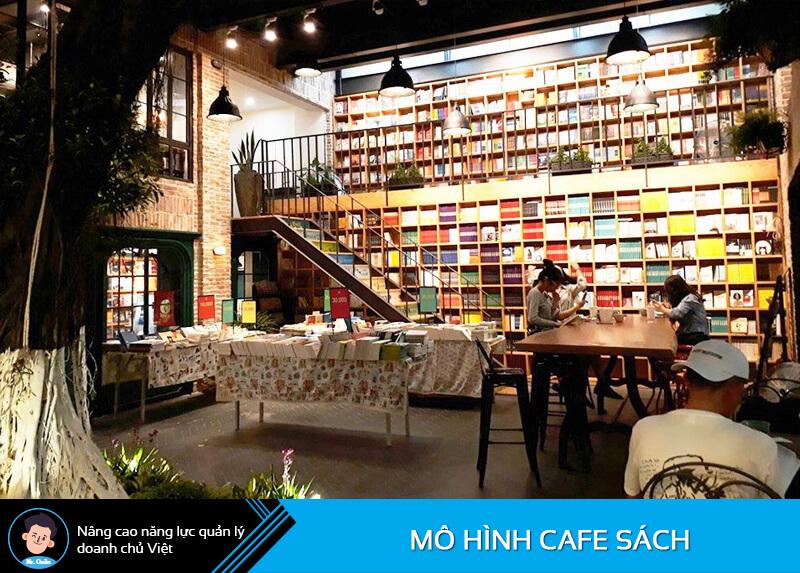 Quán cafe sách Nhã Nam