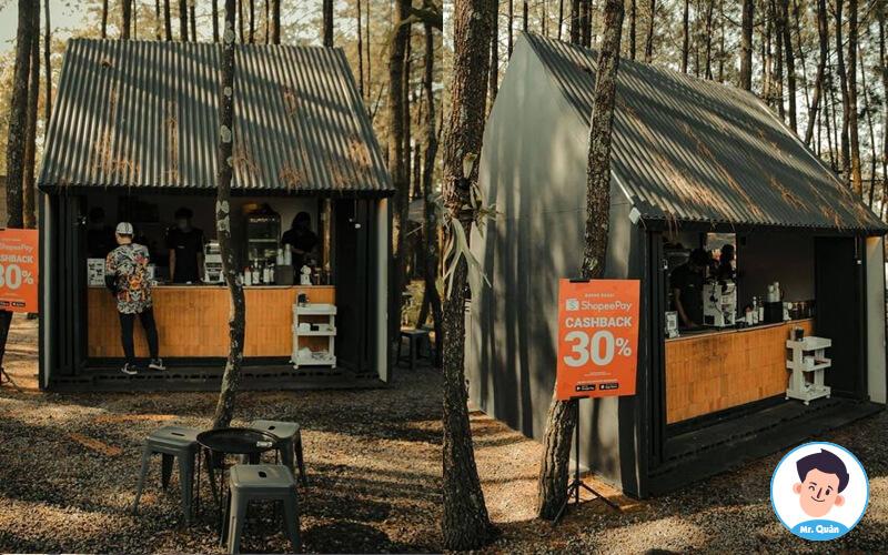 Quán cafe take away đẹp