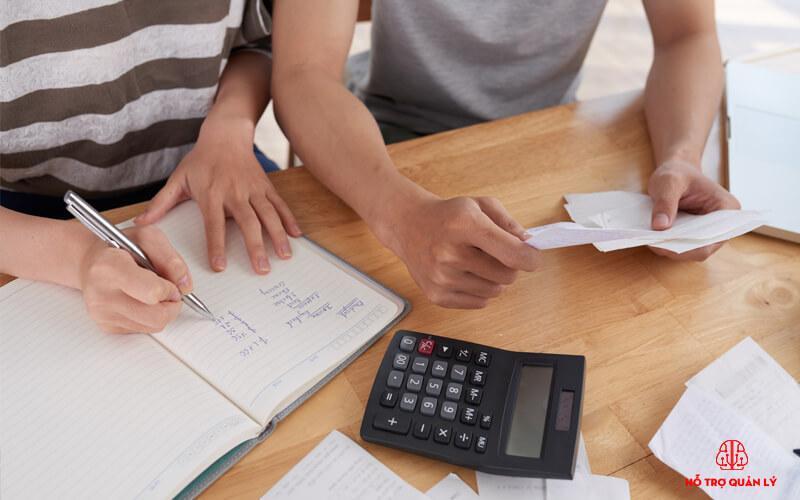 Quản lý công nợ trong phần mềm quản ly cửa hàng bán vật liệu xây dựng