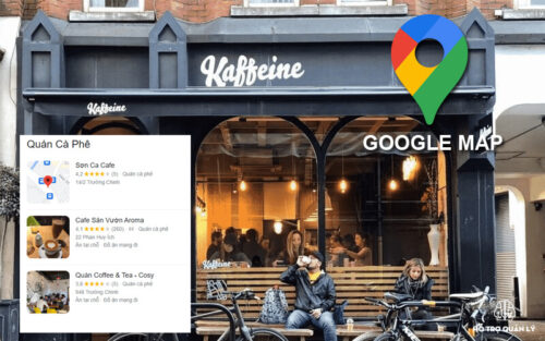 Seo google map quán cafe