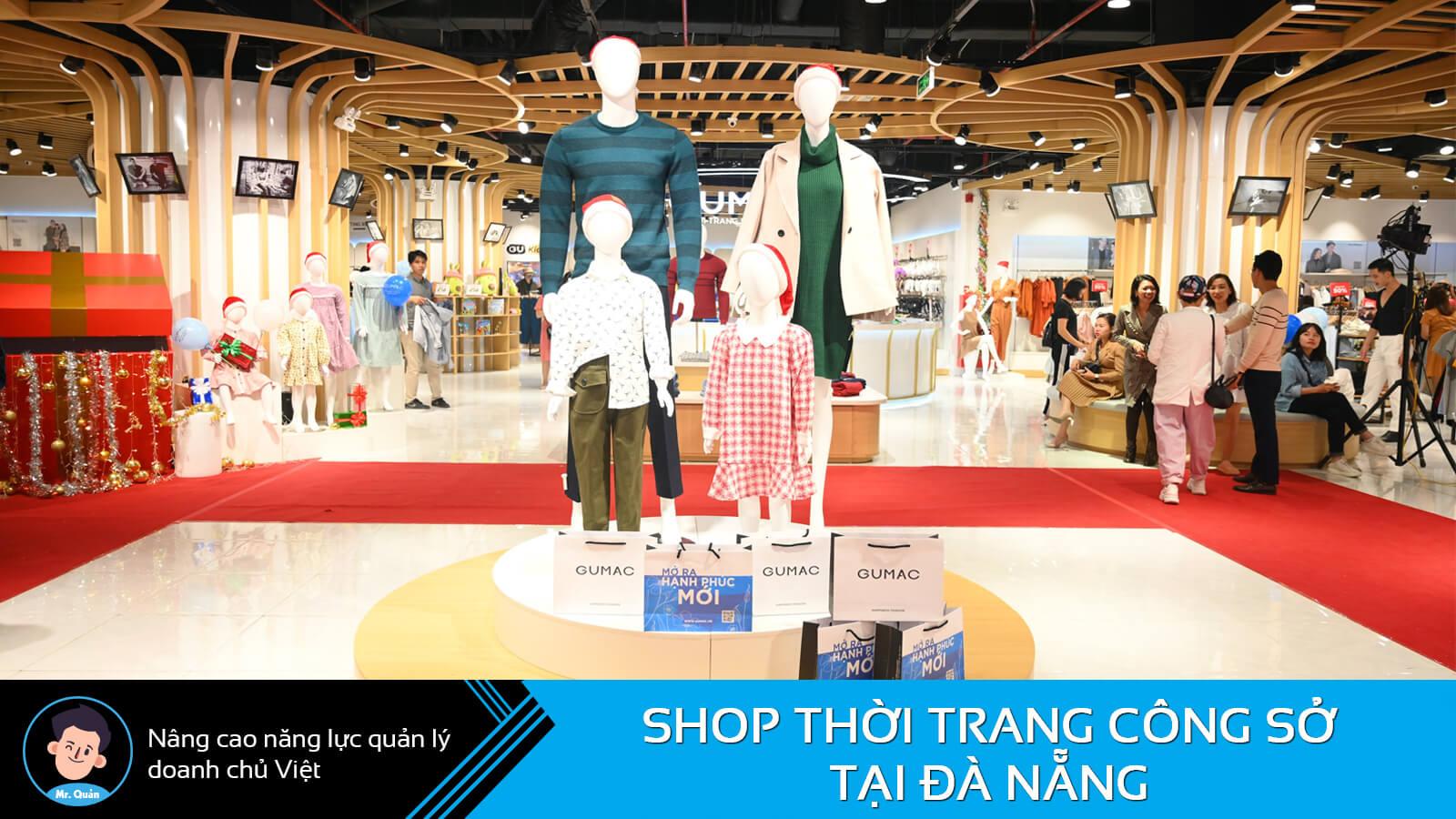 Shop thời trang công sở Đà Nẵng Gumac