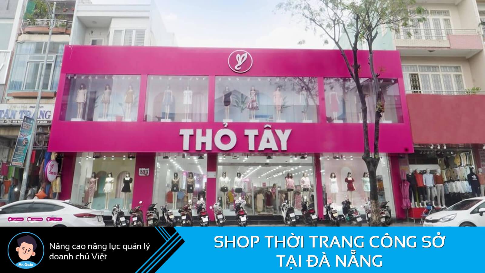 Shop thời trang công sở Đà Nẵng Thỏ Tây