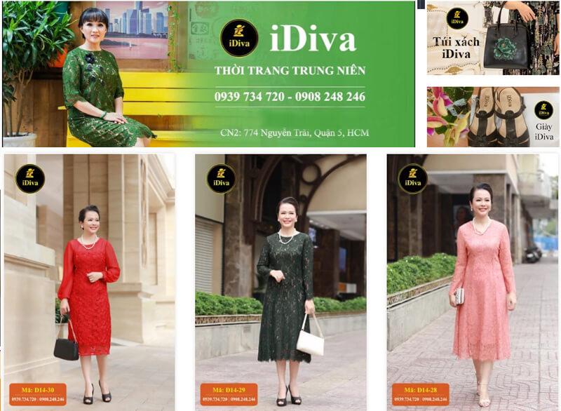 Shop thời trang u40 Idiva
