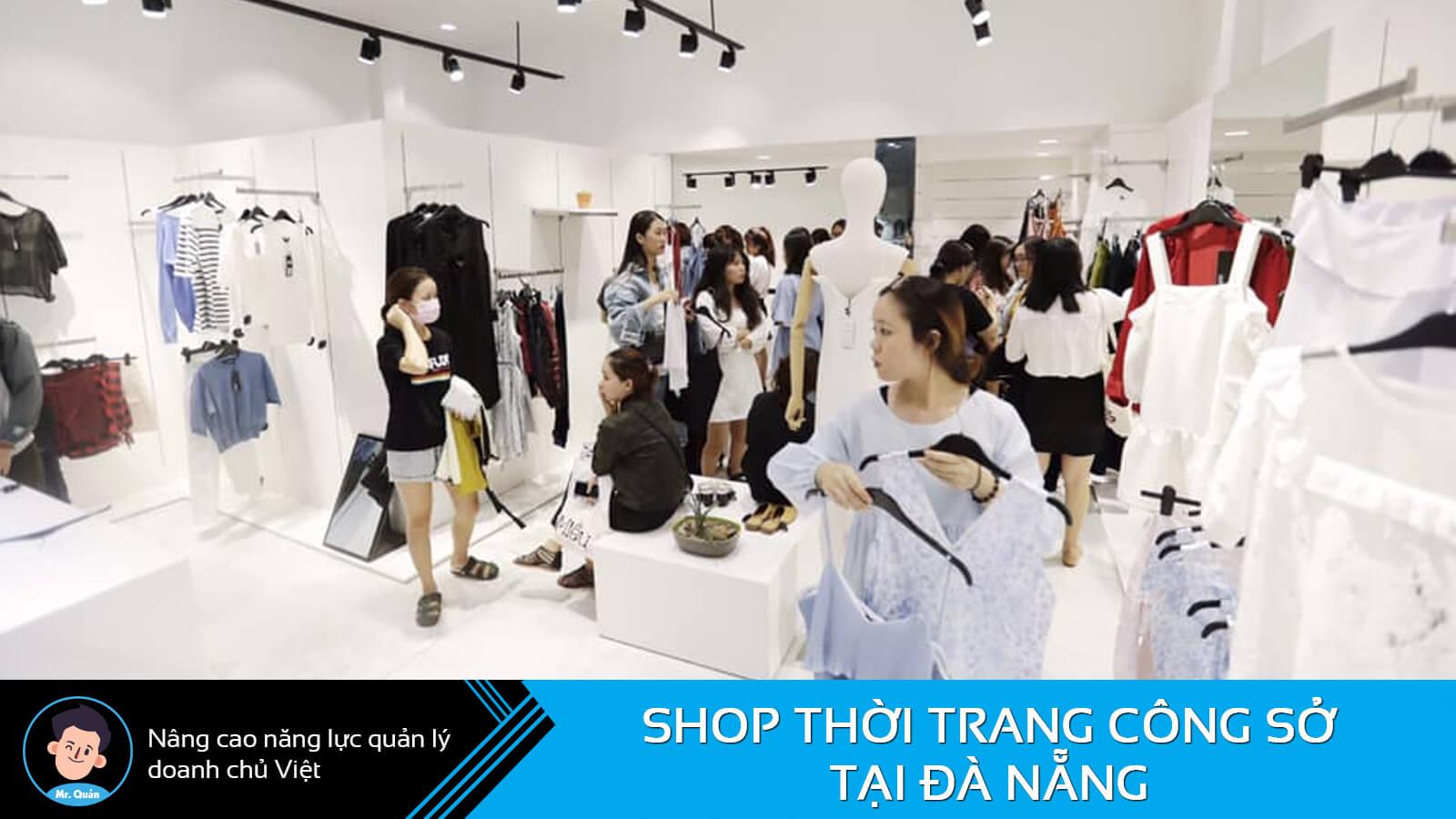 Cửa hàng thời trang công sở Đà Nẵng Dottie