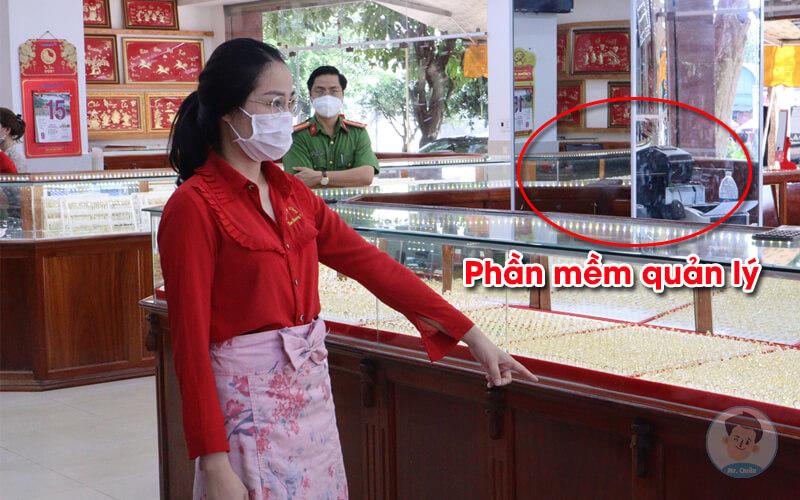 Cửa hàng Kim Hương 1 có dùng phần mềm quản lý bán hàng