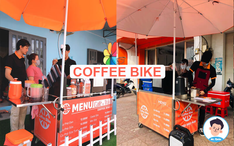 Xe cafe take away coffee bike
