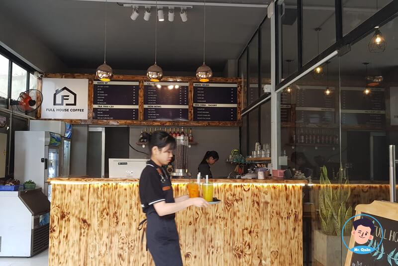 Giá bán quán cafe phù hợp
