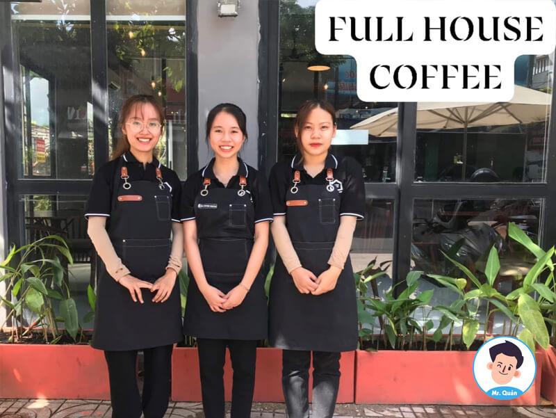 Nhân viên Full House Coffee