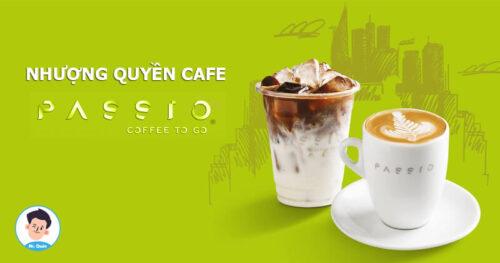 Nhượng quyền cafe Pasio