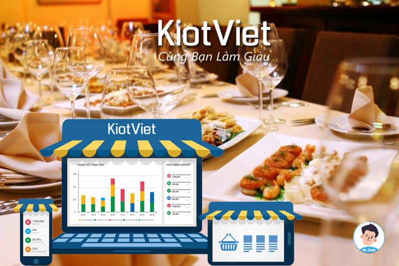 Phần mềm quản lý FnB KiotViet