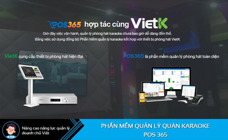 Phần mềm quản lý quán karaoke Pos 365